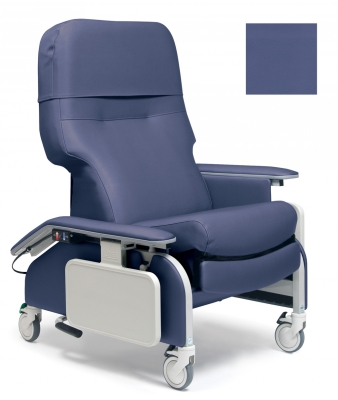 RECLINER DROP ARM ROYAL BLUE CA133 LUMEX