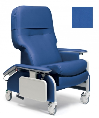 RECLINER DROP ARM SLV MRNE BLU CA133 LUMEX