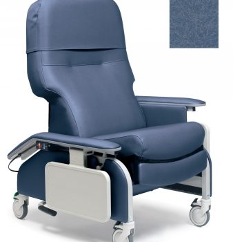 RECLINER DROP ARM STEEL BLUE CA133 LUMEX