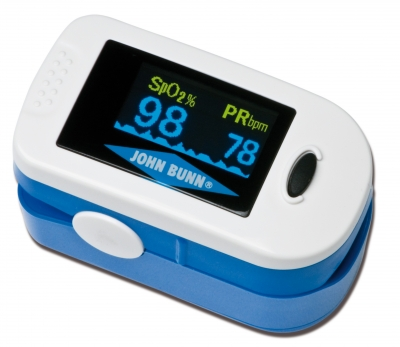 DIGIOX FINGER PULSE OXIMETER JOHN BUNN