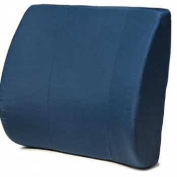 LUMBAR SUPPORT CUSHION, NAVY LUMEX