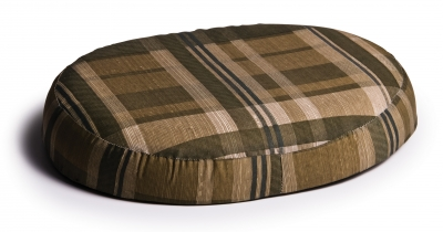 RING CUSHION GREEN PLAID LUMEX