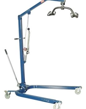 PATIENT LIFT HYDRAULIC BLUE LUMEX