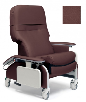RECLINER DROP ARM BURGUNDY CA-133, LUMEX
