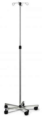 IV POLE STAINLESS STEEL 4HOOK LUMEX