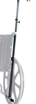 IV POLE WHEELCHAIR 1-HOOK LUMEX