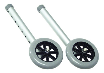 WHEELS 5 FXD FOR 1 WALKERS LUMEX