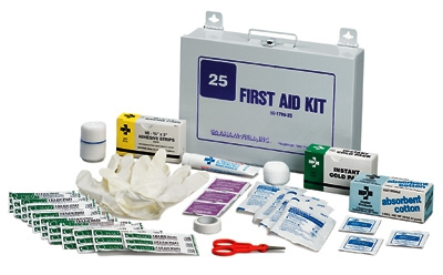 FIRST AID KIT 25 GRAFCO
