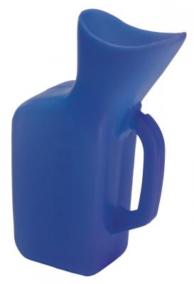 URINAL FEMALE PLASTIC BLUE GRAFCO
