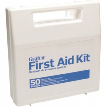 FIRST AID KITPLSTIC-50 PERSON GRAFCO
