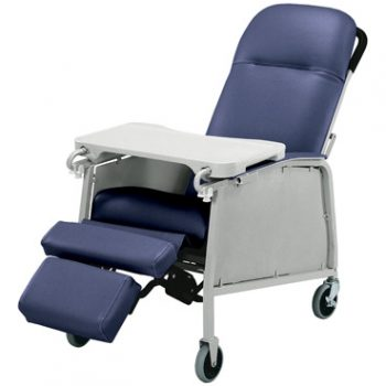 RECLINER STD 3 POS IMPERL BLUE LUMEX