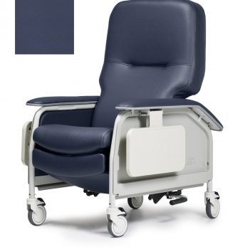 RECLINER DLX CL CARE IMPL BLUE CA133 LUMEX