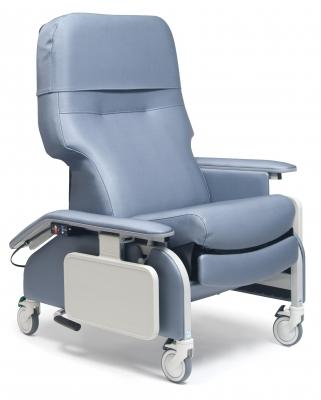 RECL DR ARM HEAT&MAS TAUPE CA-133, LUMEX