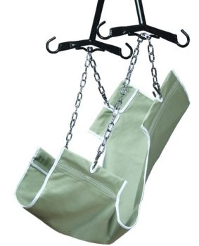NYLON 1-PIECE SLING (WITHOUT COMMODE OPENING)
