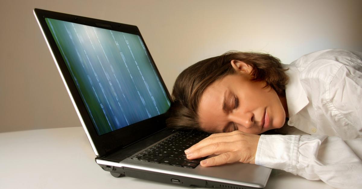 Картинки спать у компьютера
